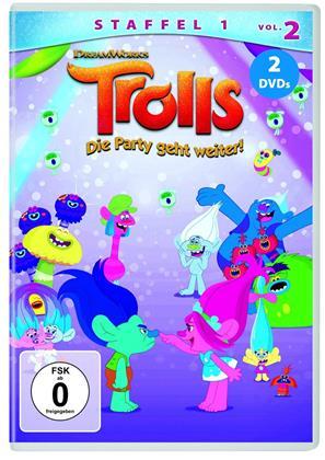 Trolls - Die Party geht weiter! - Staffel 1 - Vol. 2 (2 DVDs)
