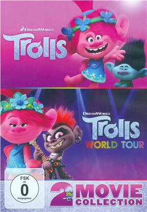 Trolls + Trolls World Tour: Trolls 2 - 2 Movie Collection (2 DVDs)