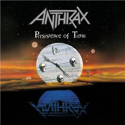 Anthrax - Persistence Of Time (2020 Reissue, 30th Anniversary Edition, 2 CDs + DVD)