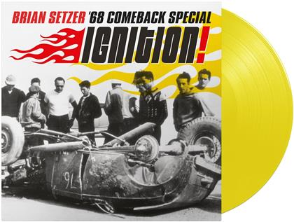 Brian Setzer (Stray Cats) - Ignition (2020 Reissue, Yellow Vinyl, LP)