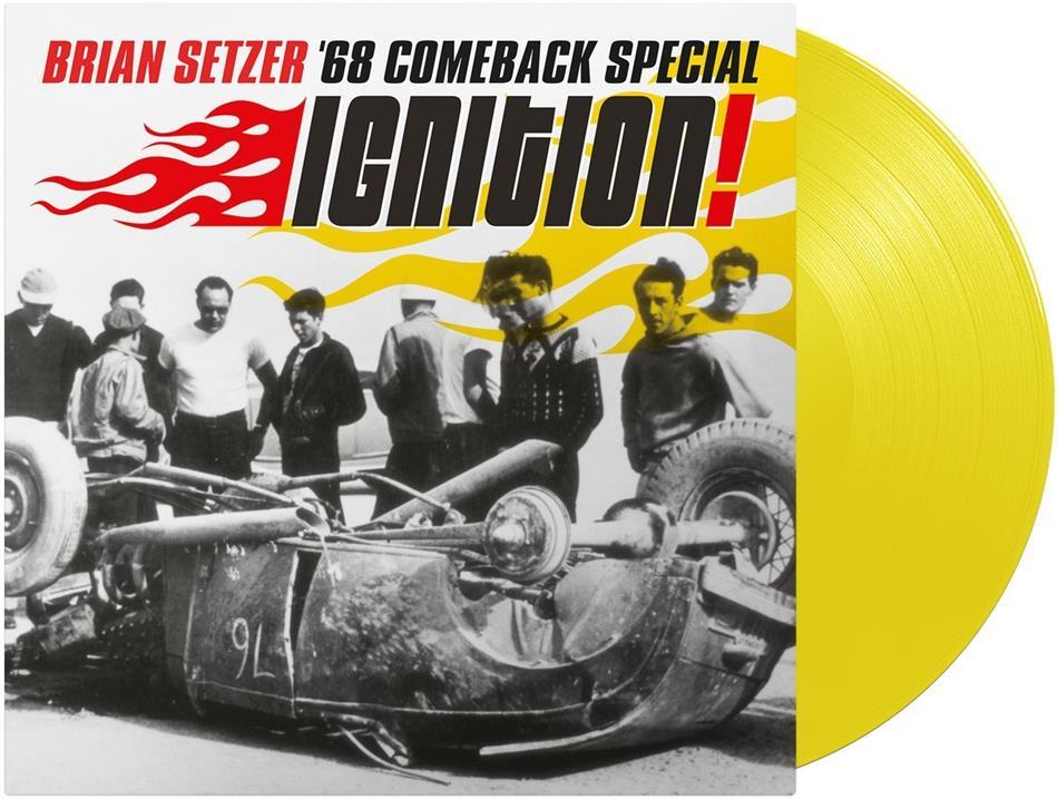 Brian Setzer - Ignition (2020 Reissue, Yellow Vinyl, LP)