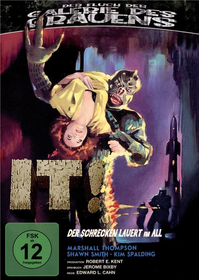 It! Der Schrecken lauert im All (1958) (Der Fluch der Galerie des Grauens, s/w, Blu-ray + DVD)