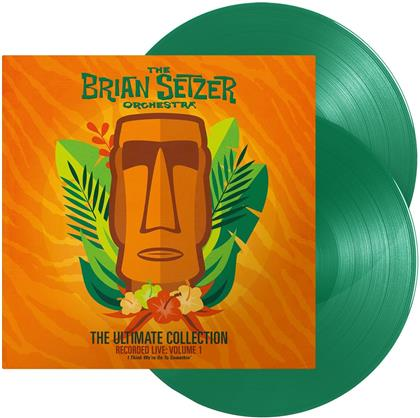Brian Setzer Orchestra - The Ultimate Collection - Vol. 1 - (Recorded Live) (Green Vinyl, LP)