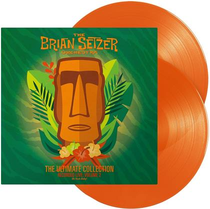 Brian Setzer Orchestra - The Ultimate Collection - Vol. 2 - (Recorded Live) (Orange Vinyl, LP)