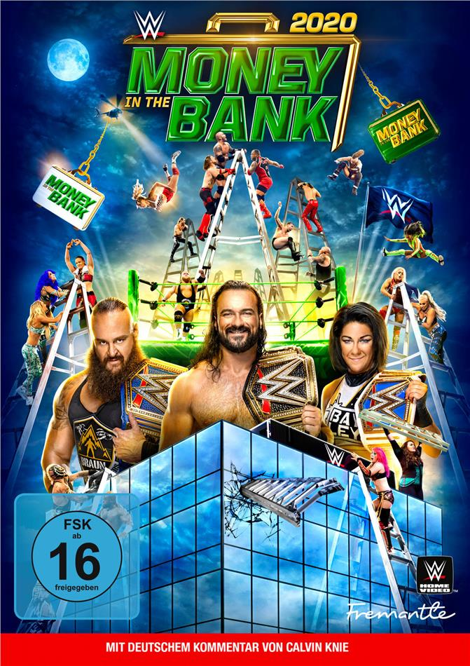 WWE: Money in the Bank 2020 (2 DVDs)