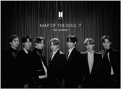 """BTS (Bangtan Boys) (K-Pop) - Map of the Soul: 7 - The Journey (Limited, """"C"""" Version, Digipack, Hip-O Records, Virgin Records, CD + Buch)"""