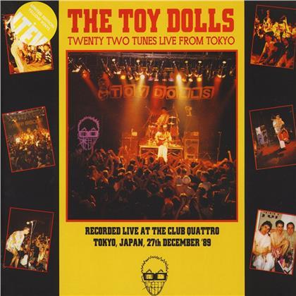 Toy Dolls - Twenty Two From Tokyo (Yellow Vinyl, 2 LPs)
