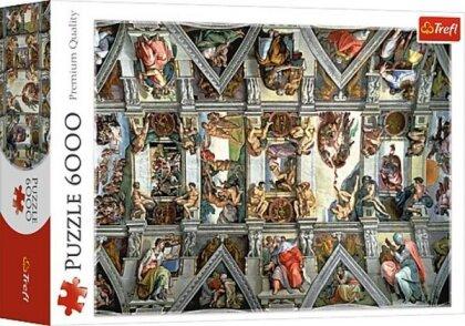 Sixtinische Kapelle - 6000 Teile Puzzle