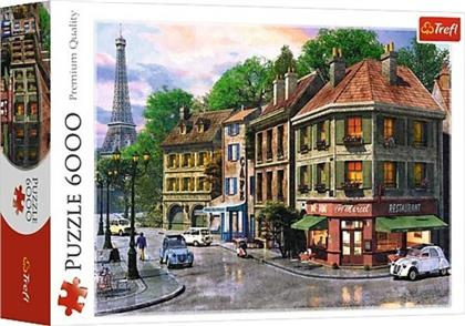 Straße in Paris - Puzzle 6000 Teile