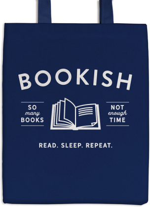 Bookish Canvas Tote Bag