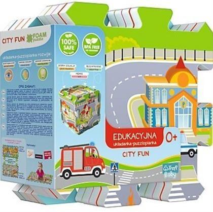 Stadt - 8 Teile Bodenpuzzle