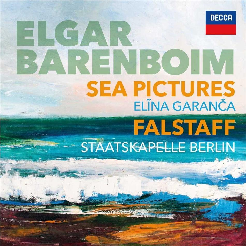 Daniel Barenboim, Sir Edward Elgar (1857-1934) & Elina Garanca - Sea Pictures, Falstaff