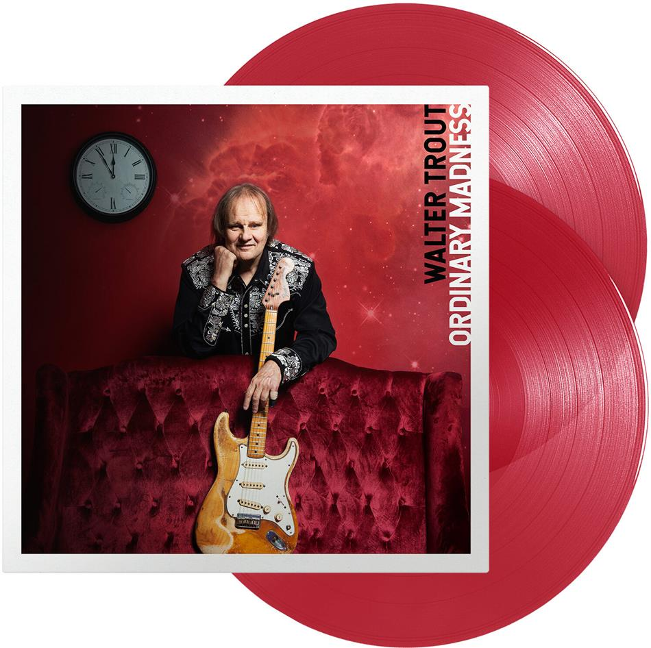 Walter Trout - Ordinary Madness (Red Transparent Vinyl, 2 LPs)