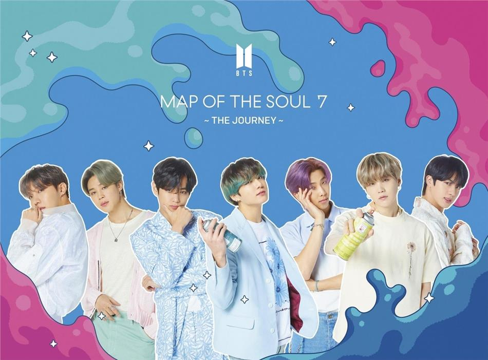BTS (Bangtan Boys) (K-Pop) - Map Of The Soul 7: The Journey (B Version, Limited, Hip-O Records, Virgin Records, CD + DVD)