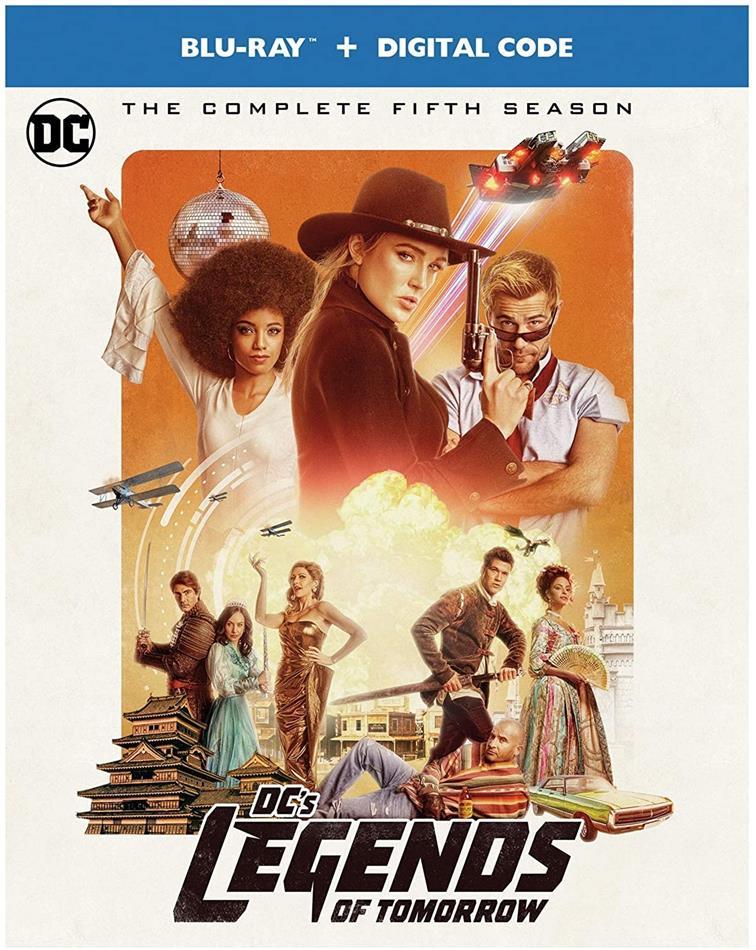DC's Legends Of Tomorrow - Season 5 (Limited Edition, 4 Blu-rays)