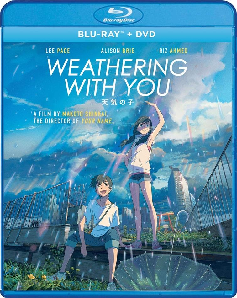 Weathering With You (2019) (Blu-ray + DVD)