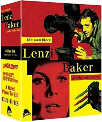 The Complete Lenzi Baker Giallo Collection (Widescreen, 4 Blu-rays + 2 CDs)