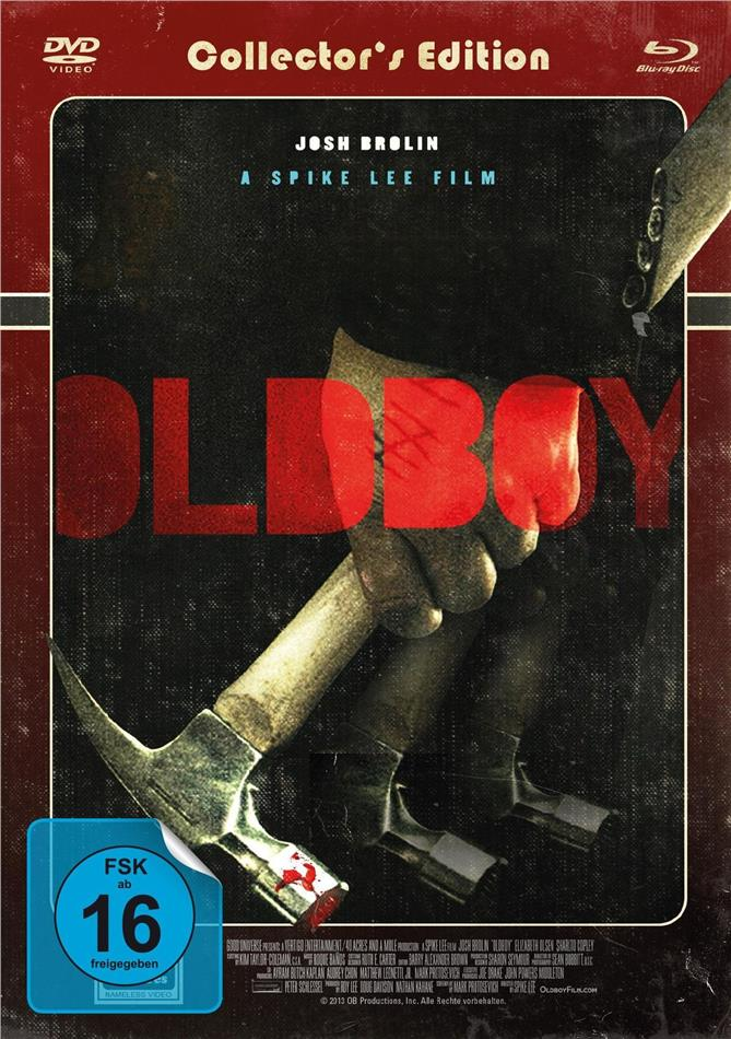 Oldboy (2013) (Cover Roter Titel, Collector's Edition, Limited Edition, Mediabook)