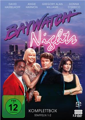 Baywatch Nights - Die Komplettbox - Staffeln 1-2 (Fernsehjuwelen, 12 DVDs)