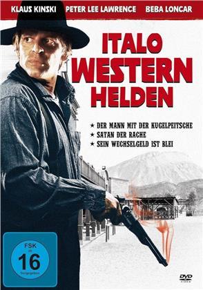 Italo Western Helden - Der Mann mit der Kugelpeitsche / Satan der Rache / Sein Wchselgeld ist Blei