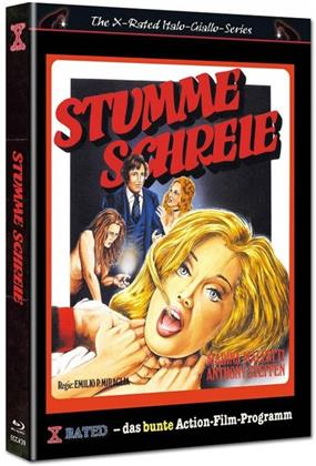 Stumme Schreie (1971) (Cover G, Eurocult Collection, Limited Edition, Mediabook, Uncut, Blu-ray + DVD)