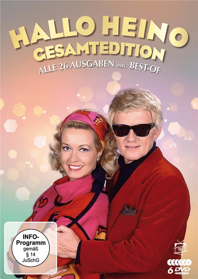 Hallo Heino - Die komplette Show-Reihe - Alle 26 Ausgaben + Best-of (6 DVDs)