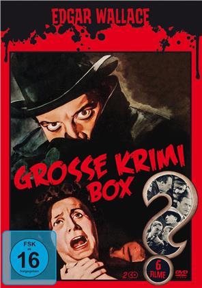 Edgar Wallace - Grosse Krimi Box - 6 Filme (2 DVDs)
