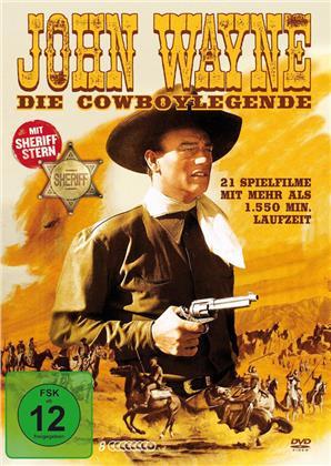 John Wayne - Die Cowboylegende (8 DVDs)