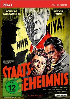 Staatsgeheimnis - State Secret (1950) (Pidax Film-Klassiker)