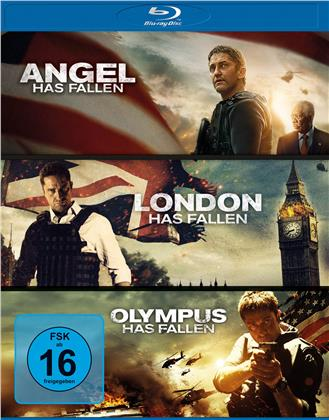 Olympus Has Fallen / London Has Fallen / Angel Has Fallen - Triple Film Collection (3 Blu-rays)