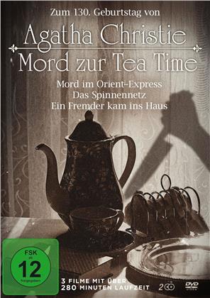 Agatha Christie - Mord zur Tea Time - Mord im Orient-Express / Das Spinnennetz / Ein Fremder kam ins Haus (2 DVDs)