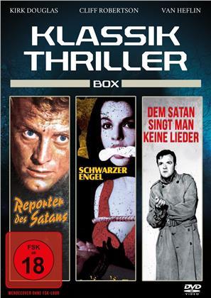 Klassik Thriller Box - Reporter des Satans / Schwarzer Engel / Dem Satan singt man keine Lieder