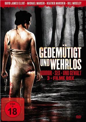 Gedemütigt und wehrlos - Horror, Sex und Gewalt 3-Filme Box