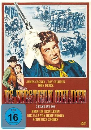 US Western Helden Box - Renn um dein Leben / Die Saga von Hemp Brown / Schwarze Sporen