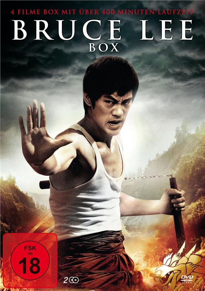Bruce Lee Box - The Legend of Bruce Lee / König des Kung Fu / Die Tigerkralle - Kampf der Giganten (2 DVDs)