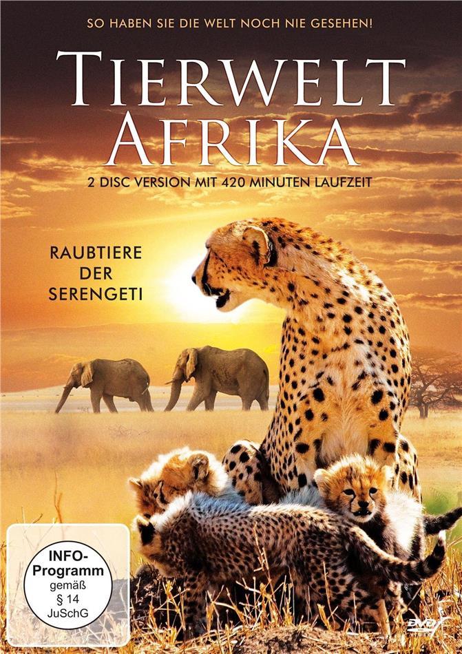 Tierwelt Afrika - Raubtiere der Serengeti (2 DVDs)