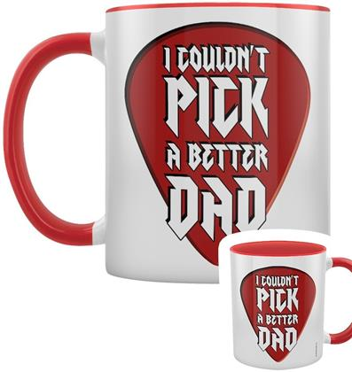 I Couldn't Pick a Better Dad - Red Inner 2-Tone Mug
