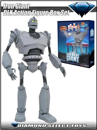 Diamond Select - SDCC 2020 Iron Giant DLX Action Figure Box Set