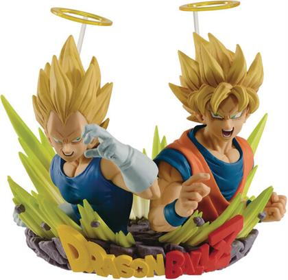 Banpresto - Dragon Ball Z Super Saiyan Goku & Vegeta Diorama