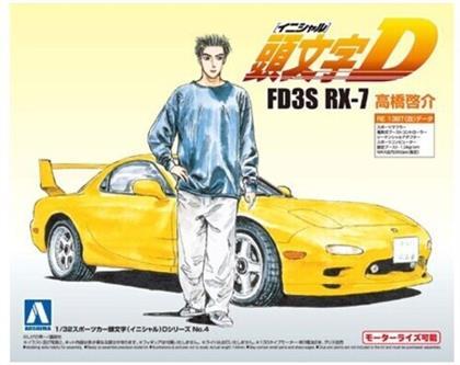 Aoshima - Initial-D #04 - 1/32 Fd3s Rx-7 Keisuke Takahashi