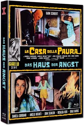 Das Haus der Angst - La Casa della paura (1974) (Eurocult Collection, Cover E, Giallo Serie, Limited Edition, Mediabook, Blu-ray + DVD)