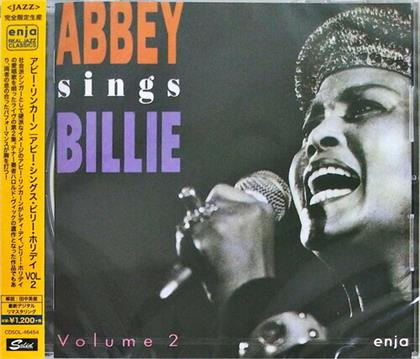 Abbey Lincoln - Abbey Sings Billie: Live At The Ujc Vol. 2 (Japan Edition, Remastered)