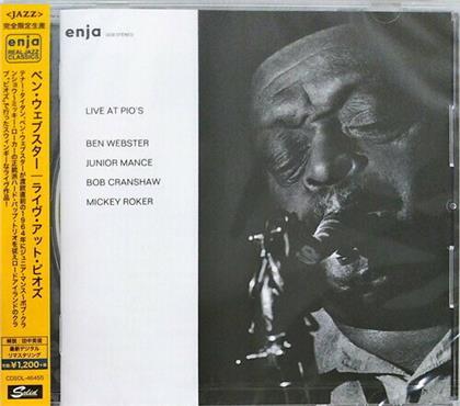 Ben Webster - Live At Pio's (Japan Edition, Remastered)