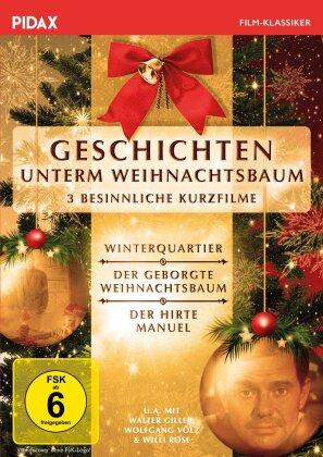 Geschichten unterm Weihnachtsbaum - 3 besinnliche Kurzfilme - Winterquartier / Der geborgte Weihnachtsbaum / Der Hirte Manuel (Pidax Film-Klassiker)