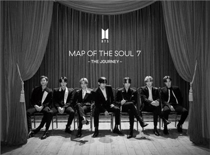 BTS (Bangtan Boys) (K-Pop) - Map Of The Soul -7 (A Version, Limited, Hip-O Records, CD + Blu-ray)