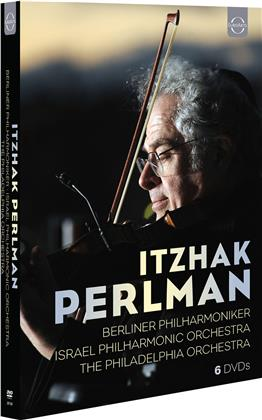 Itzhak Perlman, Daniel Barenboim, Berliner Philharmoniker, Israel Philharmonic Orchestra, … - Jubiläums-Box (6 DVDs)