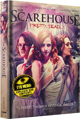 The Scarehouse (2014) (Cover B, Limited Edition, Mediabook, Blu-ray + DVD)