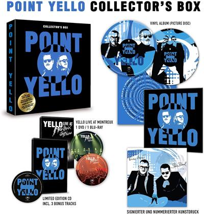 Yello - Point (Limited Collectors Box, 3 Bonustracks, CD + LP + DVD + Blu-ray)