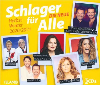 Schlager für Alle-Die Neue - Herbst/Winter 20/21 (3 CDs)