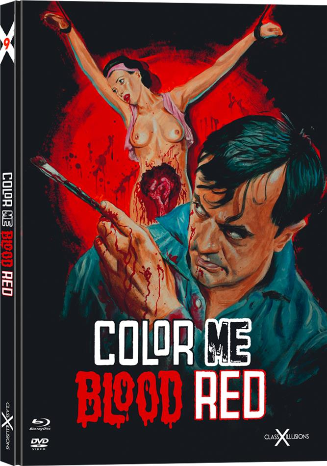 Color Me Blood Red (1965) (Class-X-Illusions, Limited Ultimate Edition, Mediabook, Blu-ray + DVD)